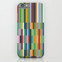 iPhone & iPod Case featuring Bricks Rotate #3 by Project M