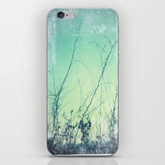 sea plants (teal) iPhone & iPod Skin