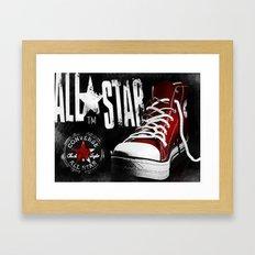Chucks Poster #2 Framed Art Print