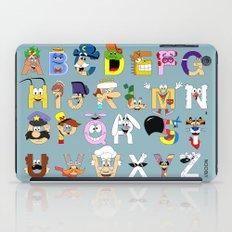 Breakfast Mascot Alphabet iPad Case