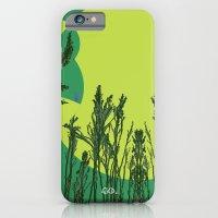 Grassy Sunset. iPhone 6 Slim Case