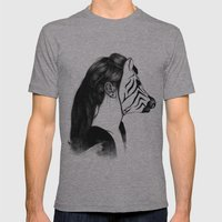 Peculiar II Mens Fitted Tee Athletic Grey SMALL
