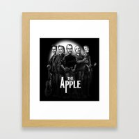 The Apple Band Framed Art Print