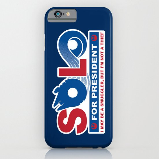 Solo for President iPhone & iPod Case