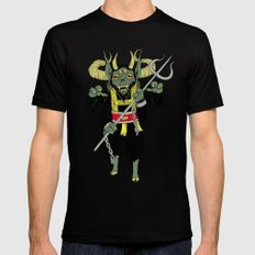 krampus SMALL Black Mens Fitted Tee