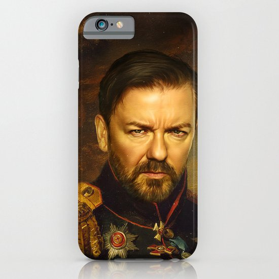 Ricky Gervais - replaceface iPhone & iPod Case