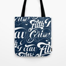 Grimey Type. Tote Bag