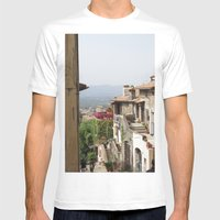 Palestrina Mens Fitted Tee White SMALL