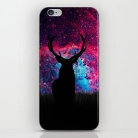 Deer Galaxy iPhone & iPod Skin
