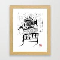 Can't Sleep Framed Art Print