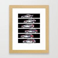 Lancia Martini Rally Car… Framed Art Print