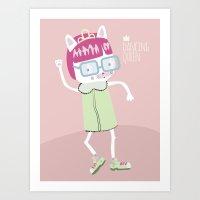 Dancing Queen Art Print