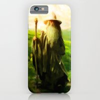 iPhone & iPod Case featuring Gandalf's Return - Painting Style by ElvisTR