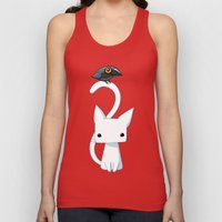 Cat And Raven Unisex Tank Top