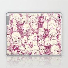 just alpacas cherry pearl Laptop & iPad Skin