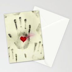 Hand & Heart Stationery Cards