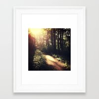 Chasing Light Framed Art Print
