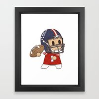 American Football Framed Art Print