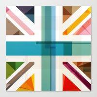 MultiCultural Britain Canvas Print