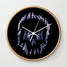 123. Blade Skull Wall Clock