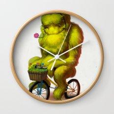 Bike Monster 1 Wall Clock