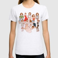 Dirty Dancing - New version Womens Fitted Tee Ash Grey SMALL