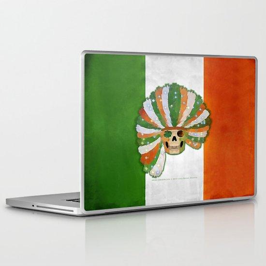 IRISH-AMERICAN 021 Laptop & iPad Skin