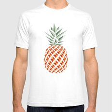 Pineapple  Mens Fitted Tee White SMALL