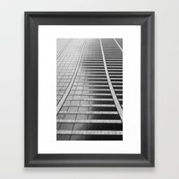 Repetition Framed Art Print