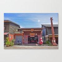 Old Town Koh Lanta Canvas Print