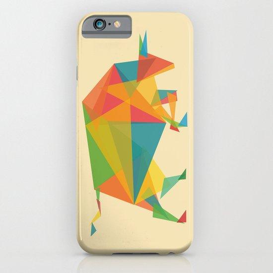 Fractal Geometric Bull iPhone & iPod Case
