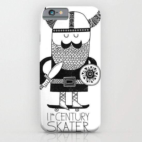 11th Century Skater - White iPhone & iPod Case