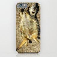 MM - Relaxing meerkat iPhone 6 Slim Case