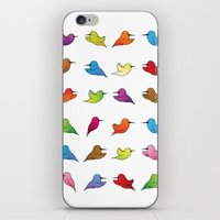 Humming Birds iPhone & iPod Skin