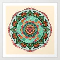 Heart Light Multicolor M… Art Print