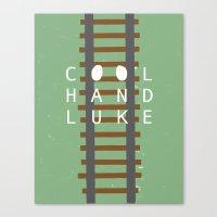 Cool Hand Luke Canvas Print