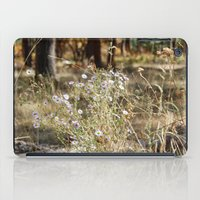 Fall Color With Flowers iPad Case
