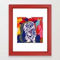 Weeping Woman #3 Framed Art Print