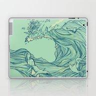 Ocean Breath Laptop & iPad Skin