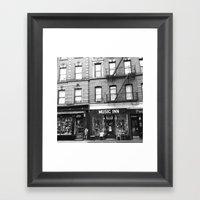 'Music Inn' New York Framed Art Print