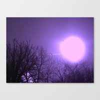 amethyst sky Canvas Print