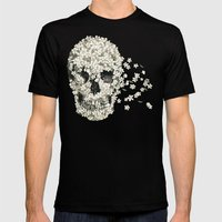 A Beautiful Death  Mens Fitted Tee Black SMALL