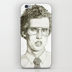 Napoleon Dynamite Multi-Pattern Portrait iPhone & iPod Skin