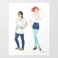 Fashion Journal: Day 6 Art Print