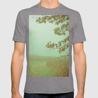 Autumn Day 23 Mens Fitted Tee Tri-Grey SMALL