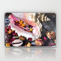 Maritime Symphony  with Sea Shells and Roses Laptop & iPad Skin