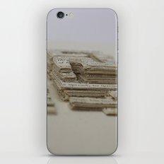 Book Art Maze iPhone & iPod Skin