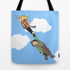 Enjolras and Grantaire Tote Bag