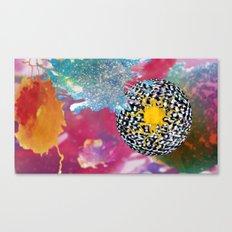 Cosmic Bleach Canvas Print