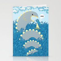 serpent surprise Stationery Cards